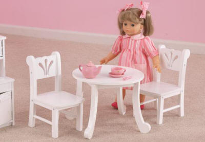 american girl table nice furniture