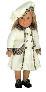american girl doll Kailey in coat