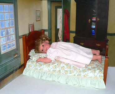 doll bed fits berenguer reborn and madame alexander babies