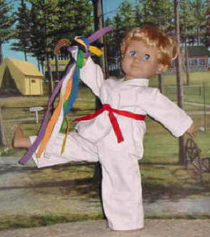 karate outfit for dolls