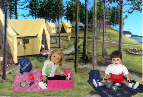 doll camping gear and accessories