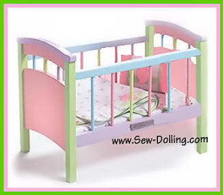 bitty baby crib from Lee Middleton