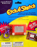 Doll size EtchASketch game
