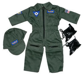 boy doll flight pilot outfit