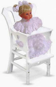 Melissa and Doug doll highchair