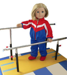 doll gymnastic outfit