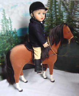 Equine Outfit for 18 inch dolls