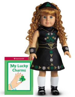 American Girl complete Irish Dance Doll outfit