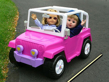 outdoor jeep for 18 inch dolls