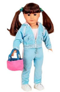 doll jogging suit