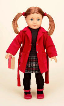 schoolgirl doll outfit for american girl dolls