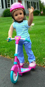 outdoor fun scooter for american girl doll