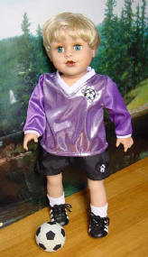 Soccer Set for Boy Dolls
