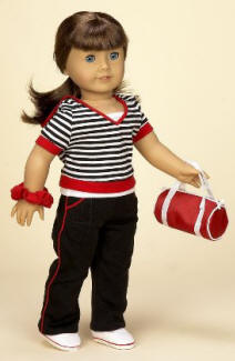 gym clothes for dolls