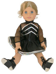 dancing outfit for your american girl doll