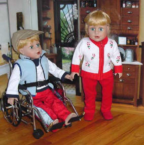 handicapable dolls are sew able and special