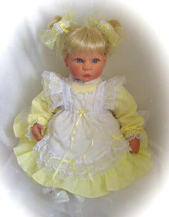 Yellow Baby Doll Clothes
