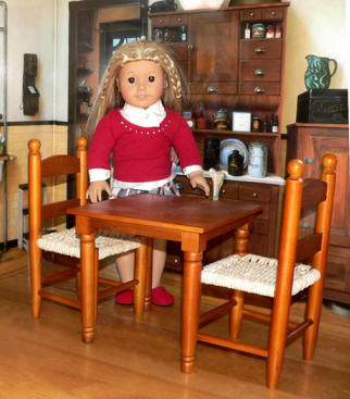 doll furniture country wood style