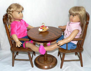doll furniture and american girl dolls